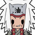 D4 NARUTO Shippuden Rubber Keychain Collection Vol.1: Jiraiya