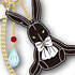 Pandora Hearts Bag Charm: B-Rabbit