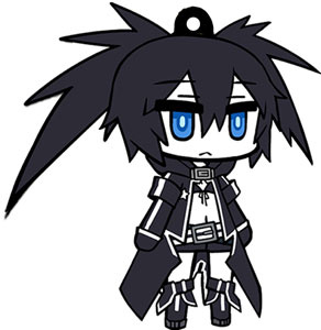 главная фотография Black Rock Shooter Rubber Strap: Black Rock Shooter