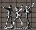 фотография Door Painting Collection Figure Monkey D. Luffy The Three Musketeers 1.5 Ver.
