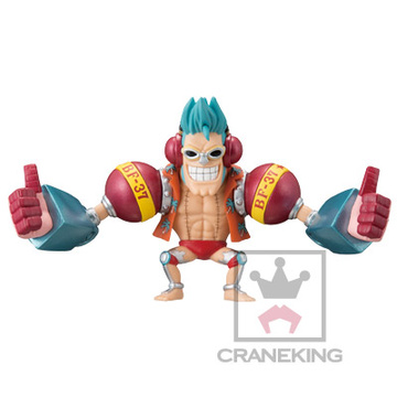 главная фотография One Piece World Collectable Figure ~Iron Pirate!! Franky Shogun~: Franky