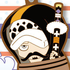 One Piece Rubber Strap Collection Barrel Colle vol.4 ~Collie Barrel Colosseum~: Trafalgar Law