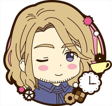 главная фотография Hetalia The Beautiful World Trading Rubber Magnet: France