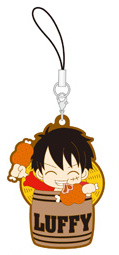 главная фотография One Piece Rubber Strap Collection Barrel Colle vol.5 ~Taruiri no ichimi~: Monkey D. Luffy