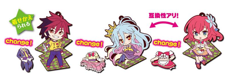 Toy's Works Collection Kisekae Niiten-gomu! No Game No Life: Shiro - My Anime Shelf