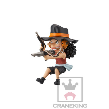 главная фотография One Piece World Collectable Figure Mini Merry Attack: Usopp