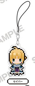главная фотография Fate/stay night [Unlimited Blade Works] PuchiBitto Strap Collection: Saber
