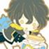 Pandora Hearts Rubber Strap Collection: Gilbert Nightray