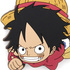 One Piece Tsumamare Pinched Strap: Monkey D. Luffy