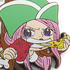 One Piece Tsumamare Pinched Keychain: Jewelry Bonney