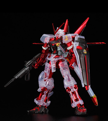 главная фотография HG MBF-P02 Gundam Astray Red Frame Flight Equipment, Coated Frame/Clear Color ver.