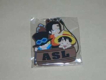 главная фотография One Piece Rubber Strap Collection Barrel Colle vol.6 Memory of Fusha Village: Ace, Sabo & Luffy