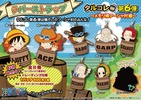 фотография One Piece Rubber Strap Collection Barrel Colle vol.6 Memory of Fusha Village: Ace, Sabo & Luffy