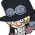 One Piece Tsumamare Pinched Strap: Sabo