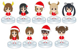 фотография K-ON! MOVIE ITO EN Santa Figure: Hirasawa Ui