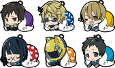 фотография Eformed Futonmushi Rubber Clip Collection Durarara!! x2: Orihara Izaya