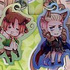 Hetalia Axis Powers Keyholder: Germany & Northern Italy Halloween