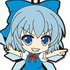 Nendoroid Plus Rubber Straps: Touhou Project Set #6: Cirno