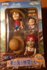 фотография One Piece Mini Figure Set: Monkey D. Luffy, Young Luffy and Shanks