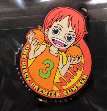главная фотография One Piece Premier Summer Keychain Collection: Nami