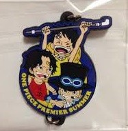 главная фотография One Piece Premier Summer Keychain Collection: Monkey D. Luffy, Portgas D. Ace, Sabo