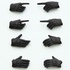 Little Armory (OP03) figma Tactical Glove Stealth Black