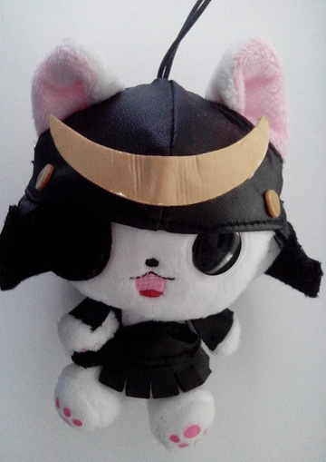 главная фотография The Gothic World of Nyanpire Plush Strap: Masamunya
