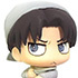 Color Colle Attack on Titan Vol.2: Levi cleaning ver. II