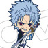 Gintama Rubber Strap Collection Leader Irekawari Hen: Hijikata Toushirou, Sakata Gintoki