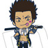 Gintama Rubber Strap Collection Leader Irekawari Hen: Kondou Isao