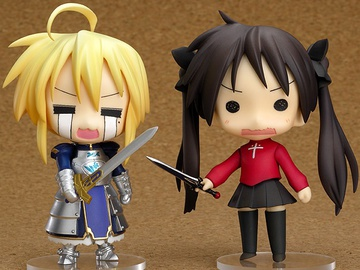 главная фотография Nendoroid Lucky Star Fate Cosplay Set