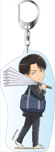 главная фотография Attack on Titan Junior High Deka Keychain: Levi