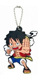 главная фотография One Piece Rubber Mascot ~Gi no Kantachi~: Luffy