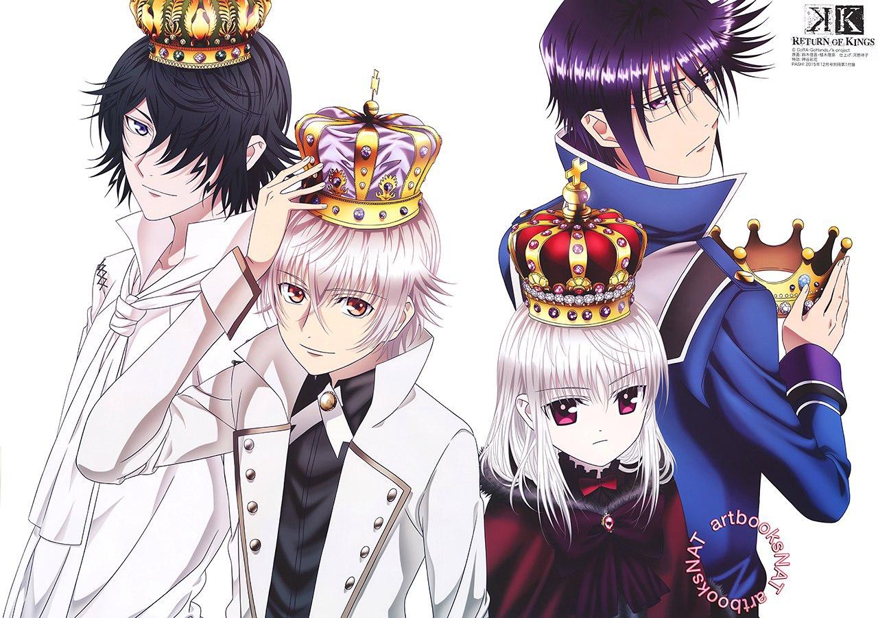 K return of kings my anime shelf for Zerochan anime