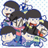 "Toy'sworks Collection Niitengo SisterS ""Osomatsu-san"" Rubber Strap: NORMAL Ver."