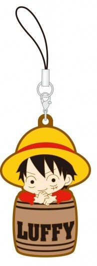главная фотография One Piece Rubber Strap Collection Barrel Colle Vol.9 ~Hat Barrel~ Hen: Monkey D. Luffy