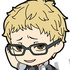 Nendoroid Plus Rubber Strap Haikyuu!!: Tsukishima Kei The Fearless Clever Blocker Ver.