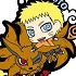 Rubber Mascot Buddy Colle BORUTO -NARUTO THE MOVIE- Seichou shita Ore-tachi Dattebayo Hen: Naruto & Kurama