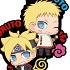 Rubber Mascot Buddy Colle BORUTO -NARUTO THE MOVIE- Seichou shita Ore-tachi Dattebayo Hen: Naruto & Boruto