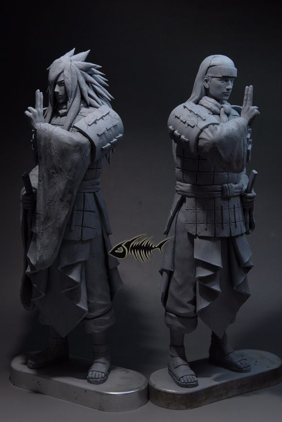 NARUTO GK Statue the Final Valley Senju Hashirama VS ...