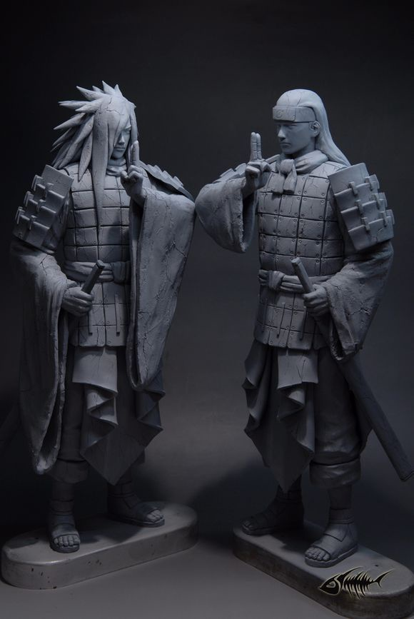 naruto gk statue the final valley senju hashirama vs