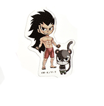 главная фотография Gekkan FAIRY TAIL Collection: Gajeel Redfox & Pantherlily