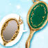 Sailor Moon Crystal Die-Cast Charm: Deep Aqua Mirror