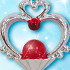 Sailor Moon Crystal Die-Cast Charm: Garnet Orb
