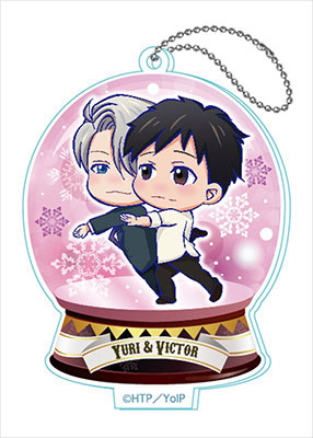 главная фотография Yuri on Ice Toji Colle Acrylic Keychain Vol.2: Yuri Katsuki & Victor