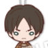 Nitotan Attack on Titan Plushie With Ball Chain: Eren