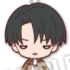 Nitotan Attack on Titan Plushie With Ball Chain: Levi