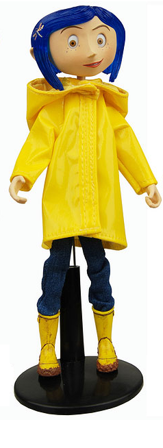 главная фотография Bendy Fashion Doll Coraline Raincoat and Boots Ver.