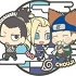 Rubber Mascot Buddy Colle NARUTO Shippuden: Three Man Seru Dattebayo! Hen: Team 10