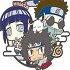 Rubber Mascot Buddy Colle NARUTO Shippuden: Three Man Seru Dattebayo! Hen: Team 8